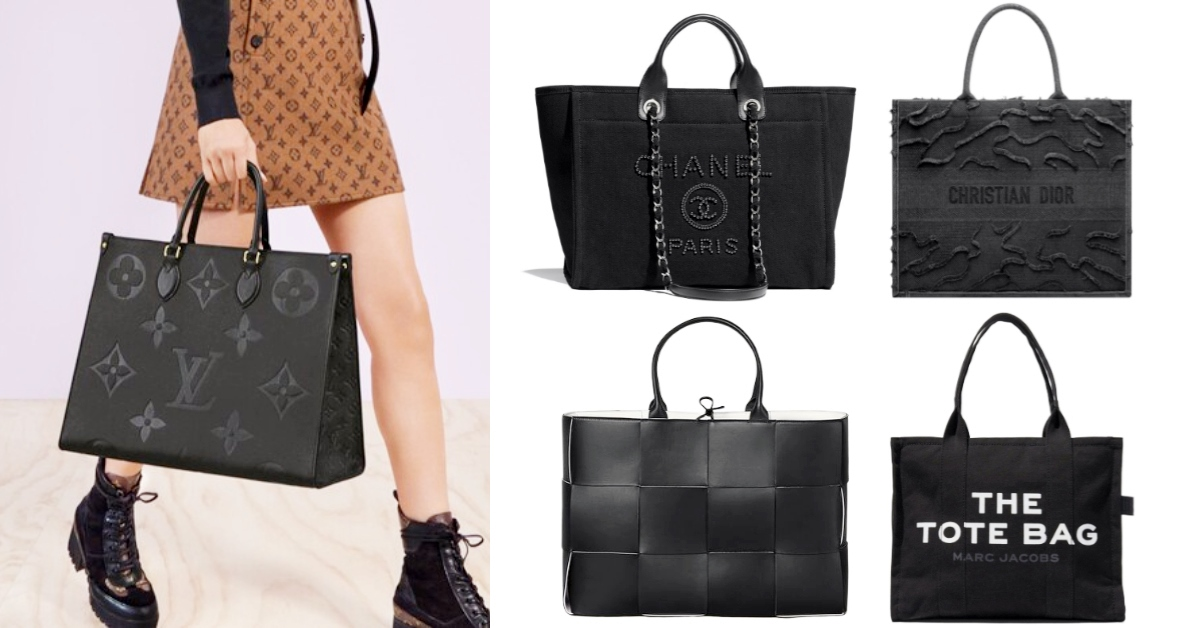 通勤OL救星!2020春夏「黑托特」Chanel、Dior、BV、Louis Vuitton...最完美尺寸IT包來報到!