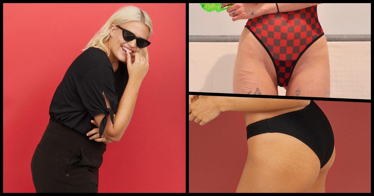 從現在起接受自己的不完美吧!H&M最新泳裝照零修圖,帶頭提倡「自然美」