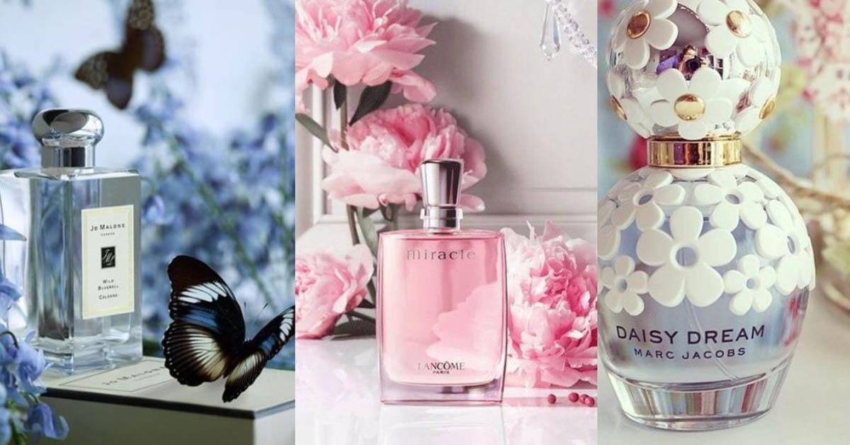 春暖花開~7款代表春季的小清新香水,讓妳散發小女人風采
