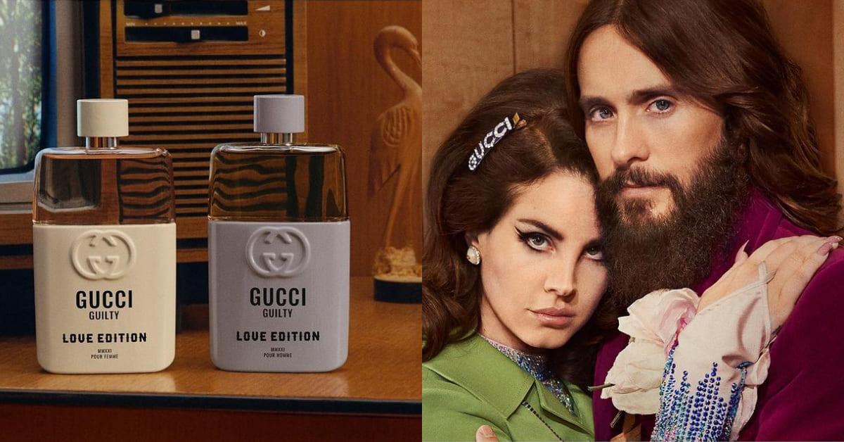 """情人節香水也要""""極致灰""""!Gucci香水最激情力作""""Guilty罪愛無畏""""男女對香,暖暖木質香讓感情升溫"""