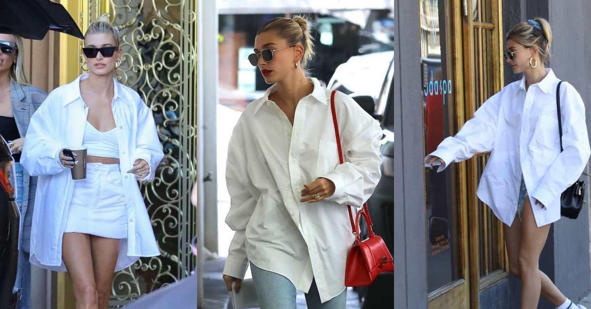 白襯衫怎麼穿?小賈太太「這3招」拯救衣櫃無聊單品,Oversize、運動混搭都能完美駕馭!