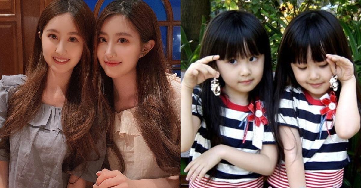 Youtuber「最美雙胞胎」長大後顏值升級?!身陷整容爭議,網友:和小時候差很大