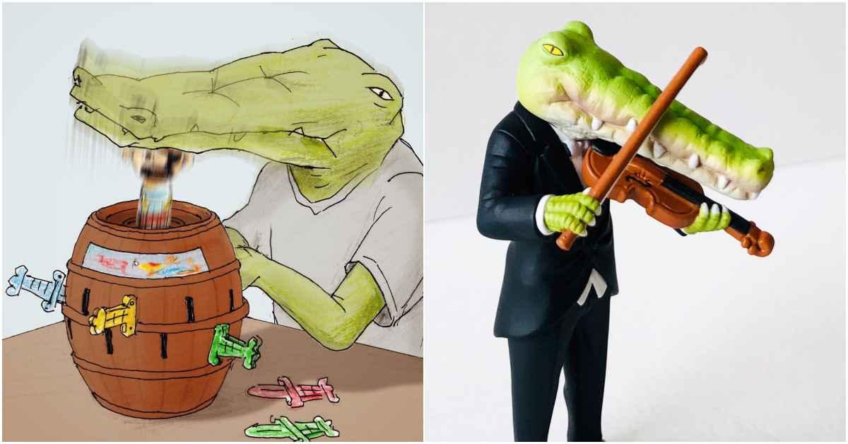IG爆紅厭世鱷魚先生《我的生活不可能那麼壞》,將推出實體扭蛋!