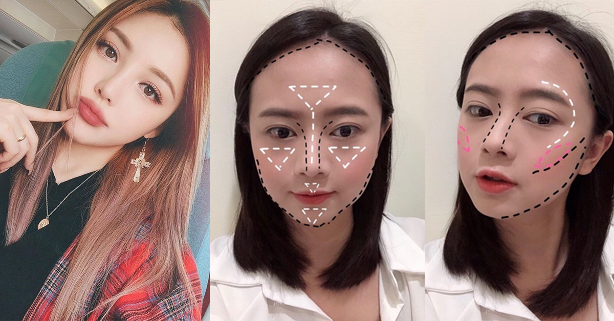 日本最夯「整形級」小臉易容術!5招打造瓜子臉,高CP值修容、打亮、腮紅推薦