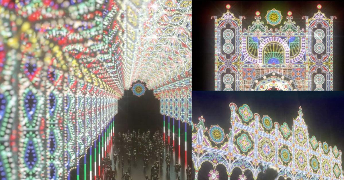 日本神戶夢幻光雕來台北了!300公尺絕美燈秀讓你捨不得錯過