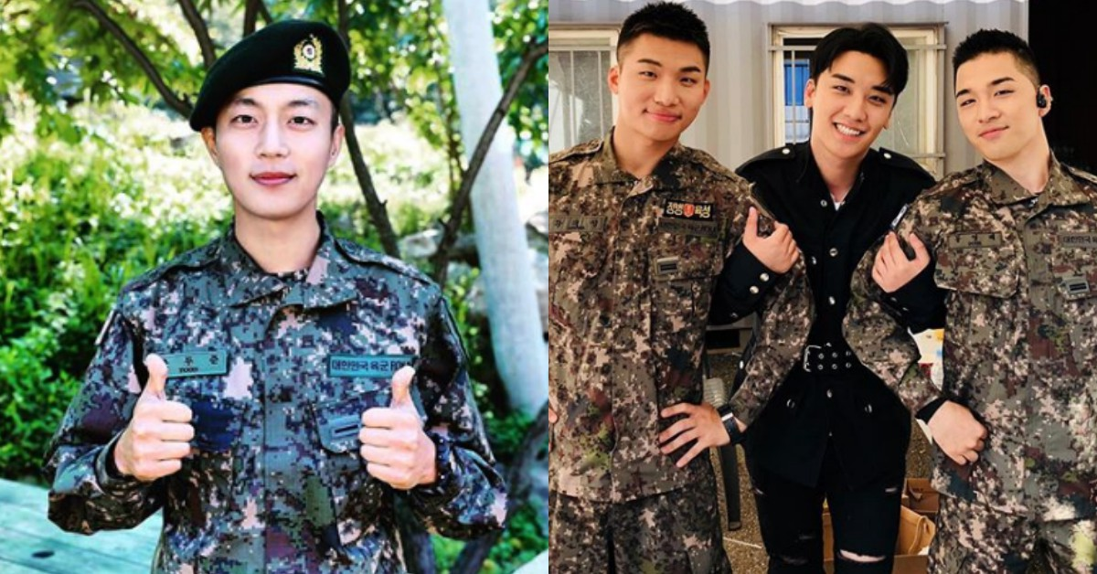 韓國當兵男偶像近況大公開!你的歐巴現在還好嗎?