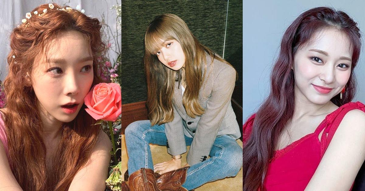 2020韓星最愛3大秋冬髮色!泰妍蜜糖棕、子瑜玫瑰色,不須漂髮也減齡顯白!