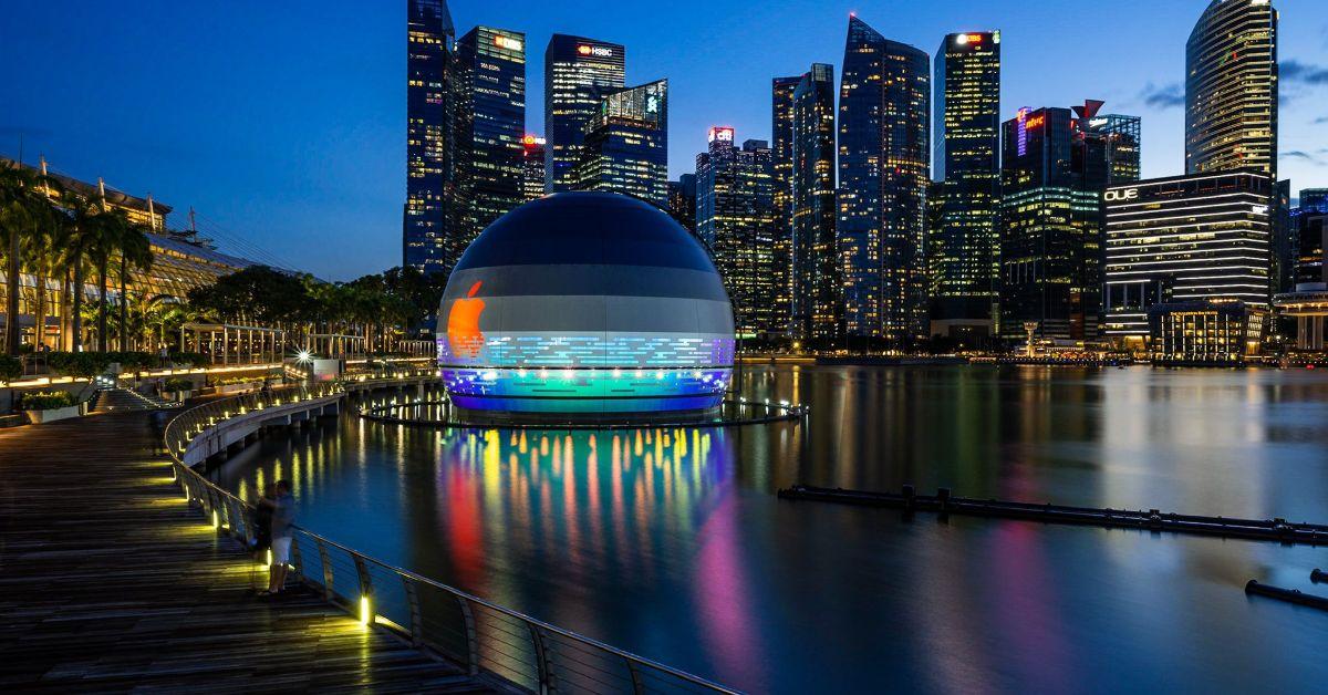 Apple全球第一間「水上」專賣店即將開幕,新加坡果粉太幸福!