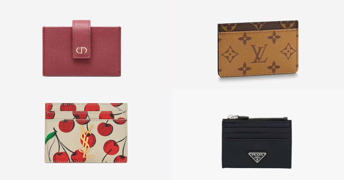 名片夾推薦Top 15!LV、Dior、Gucci...小資女年終犒賞自己就買它