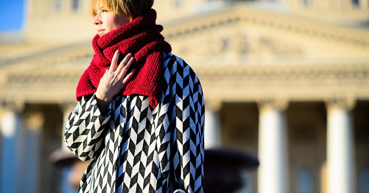 不同氣溫就有不同的綁法,今年秋冬最實用的圍巾綁法