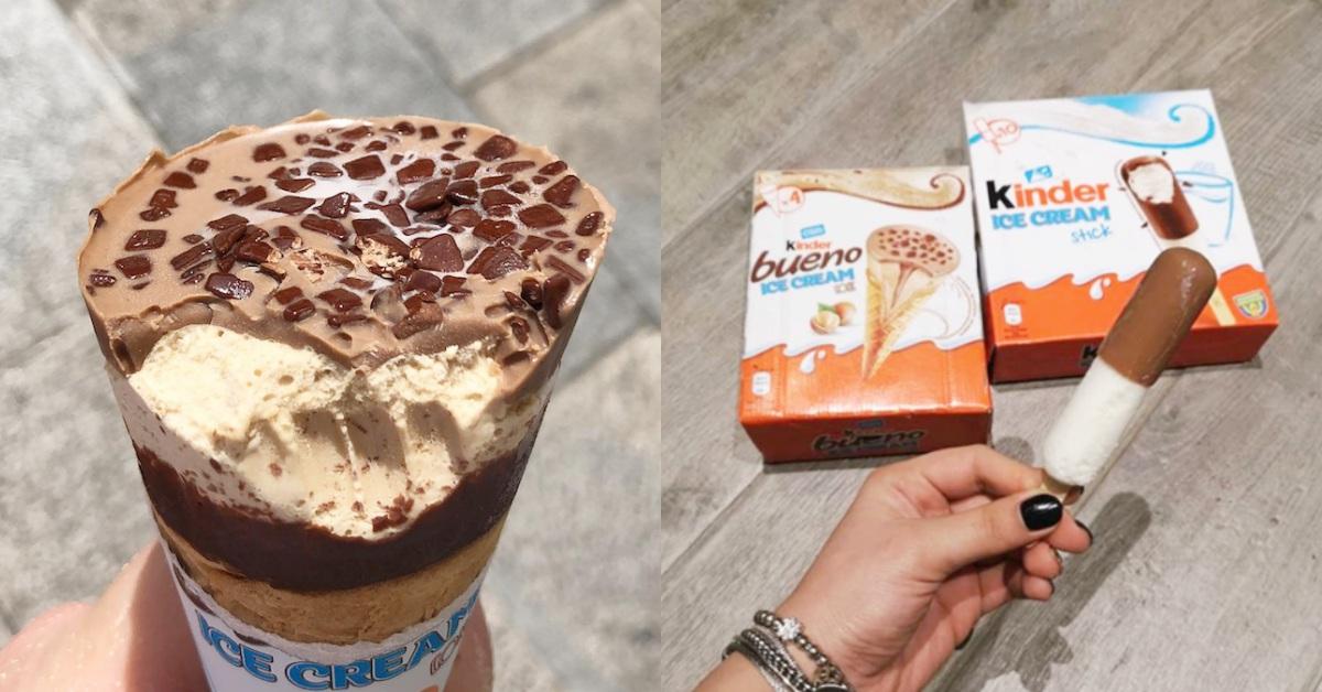 健達出奇蛋變成冰淇淋!還推出繽紛樂冰淇淋甜筒,童年回憶吃起來