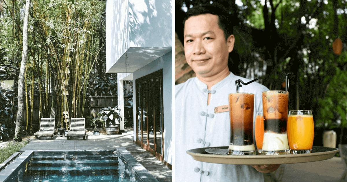遠離胡志明市喧囂,遁入隱密的 An Lam Retreats 在西貢河旁度假勝地,享受私人池畔邊的豐盛早餐