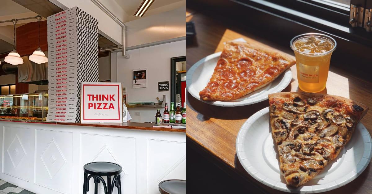 台南美食推薦 「THINKPIZZA」!時髦裝潢成打卡熱點,紐約披薩口味重現古都