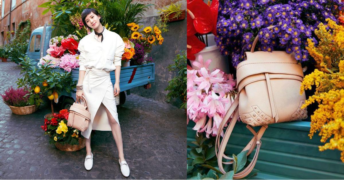 母親節的孝親系穿搭,劉詩詩用TOD'S鞋包展現好女兒的時髦Look!
