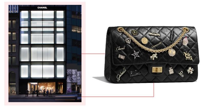 Chanel紐約旗艦店開張!限定包款、裝置藝術絕對讓小香迷瘋狂