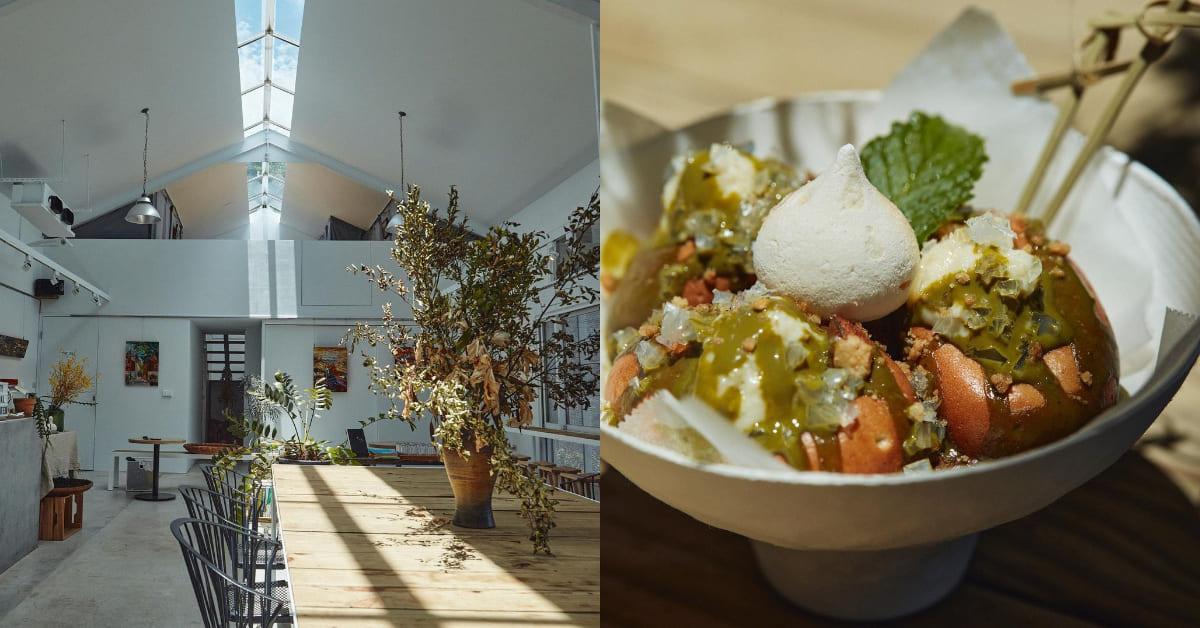九份咖啡廳推薦「野事草店」,山城裡的藥草茶館,招牌甜點「雞蛋糕」勝過芋圓