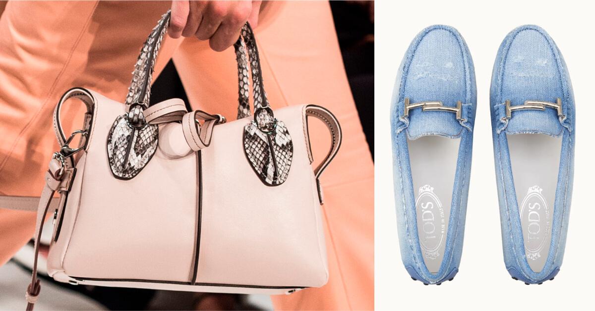 穿上 TOD'S吧!一起藉由義式工藝來享受陽光徜徉於義大利的時尚風情