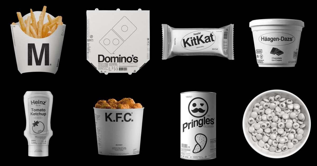麥當勞、肯德基變高級了?換上極簡包裝看起來卻不美味了?網友:我買的是時髦不食物