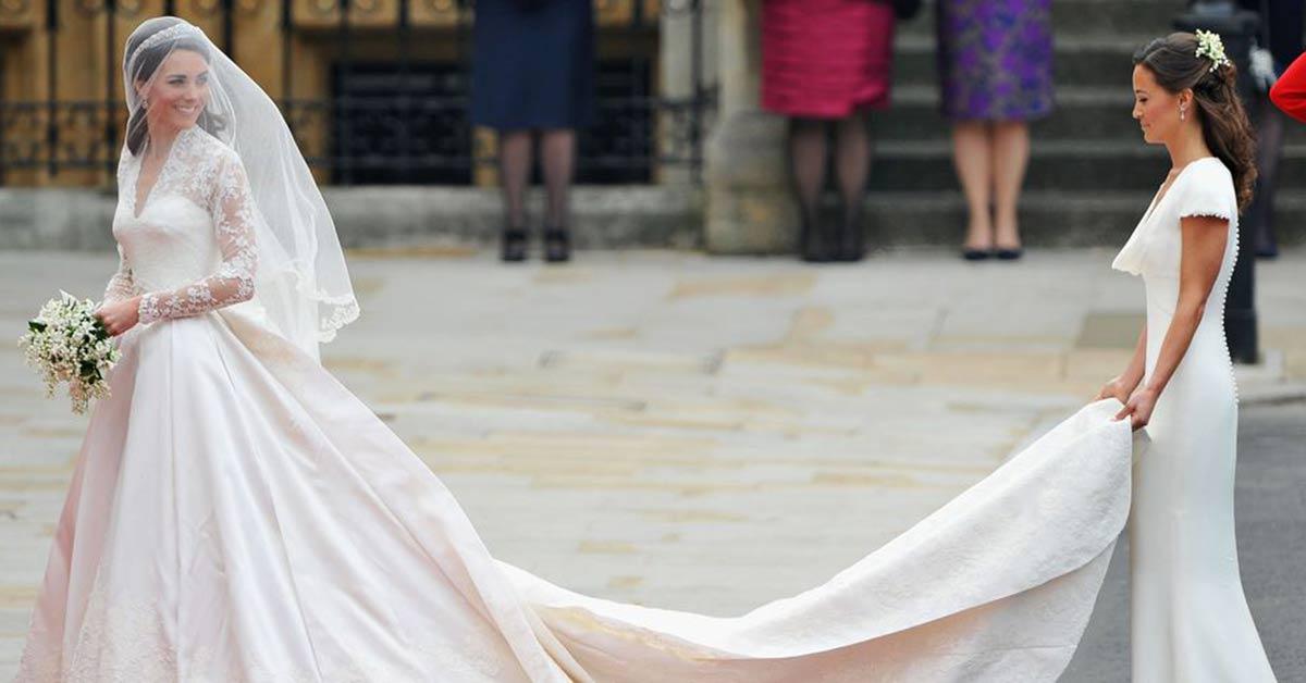 梅根馬克爾婚紗有機會超過凱特王妃?細數當今十套名人最貴的婚紗