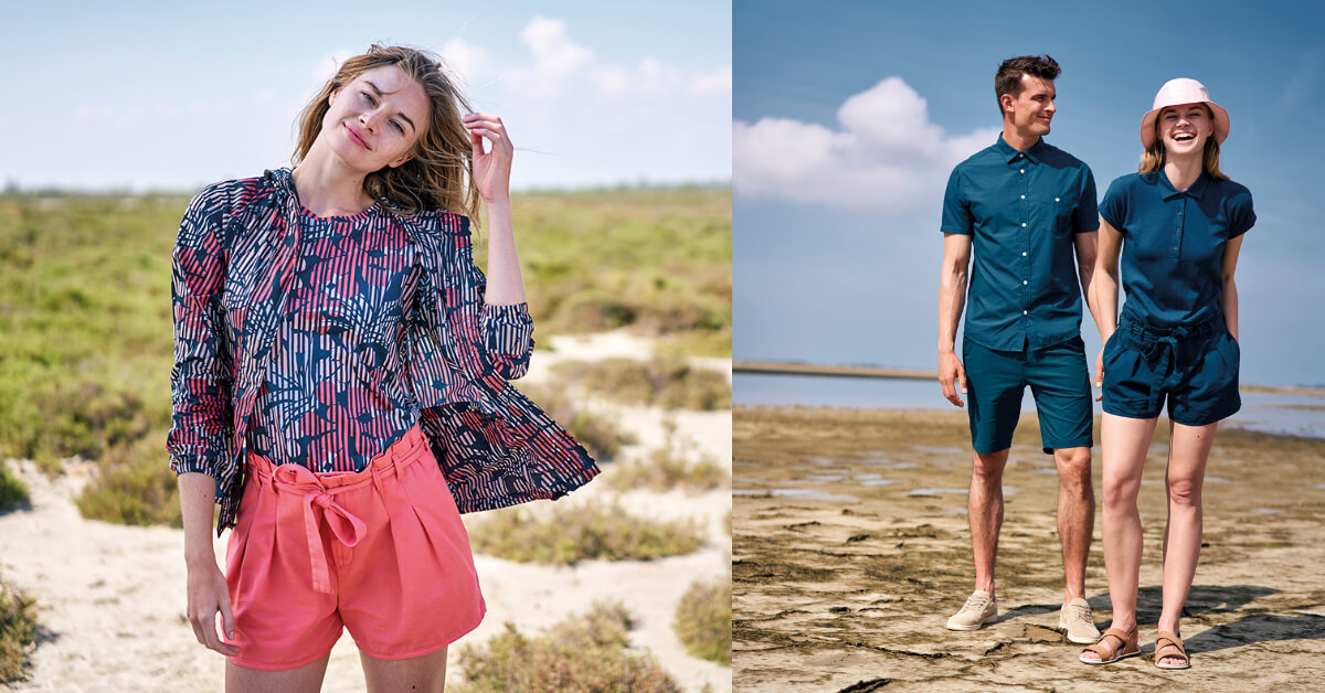 面對夏季善變的梅雨季節,穿上 AIGLE 用時尚態度優雅反擊!