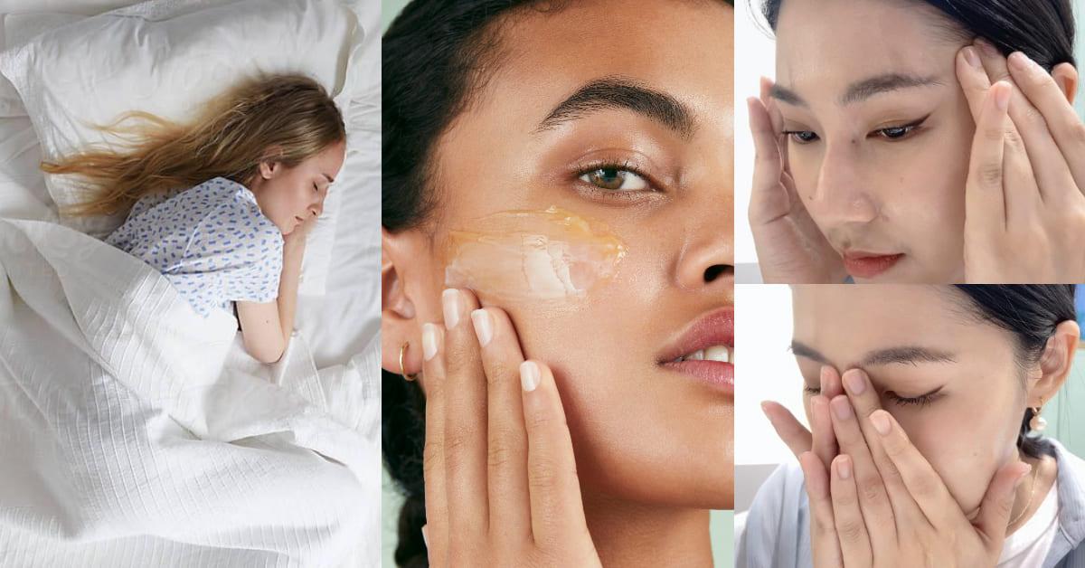 卸妝按摩能改善失眠?美容專家親授「3點式」紓壓保養法,睡前卸妝品還得這樣挑才有效...