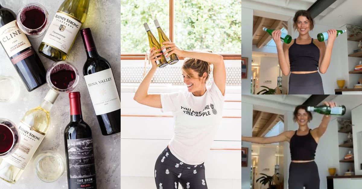 宅在家不用器材也能健身!好萊塢女星瘋傳的「酒瓶」瘦身操,5分鐘趕走腋下掰掰肉