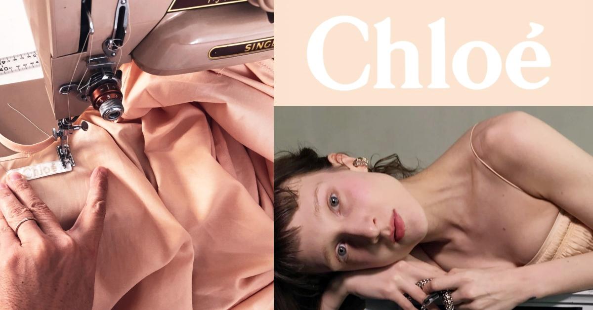 防護衣一件比一件美!Chloé「藕粉色防護衣」打趴同業,當外出服根本零違和!
