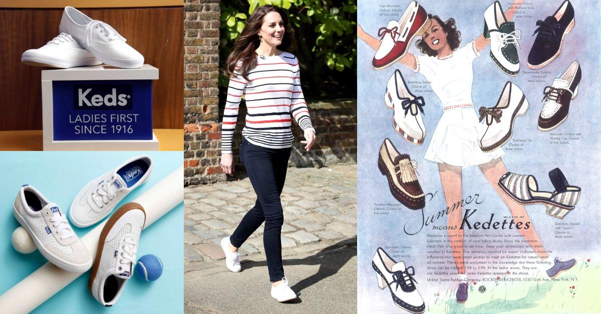 【百年俱樂部】凱特王妃、泰勒絲愛死它!「最老運動品牌」Keds創立104年,女士優先幫你穿出大長腿