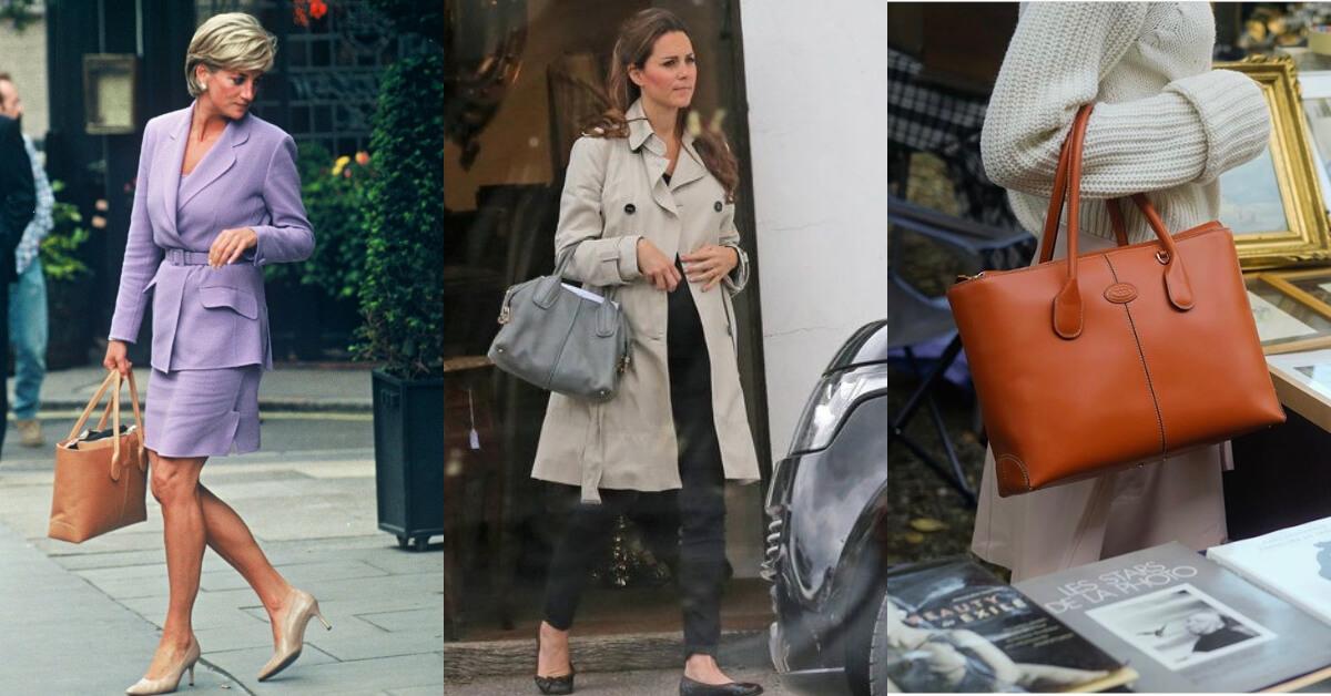 最經典的傳奇IT Bag是它!從黛妃到一線女星都少不了TOD'S 「D-Bag」的優雅身影