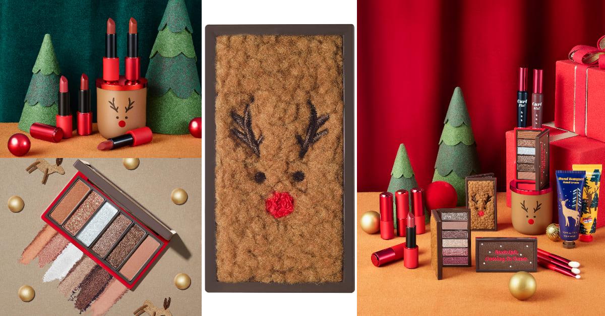 Etude House聖誕彩妝!馴鹿皮、雪橇皮紋印上彩妝,毛茸茸可愛到立刻放入購物籃