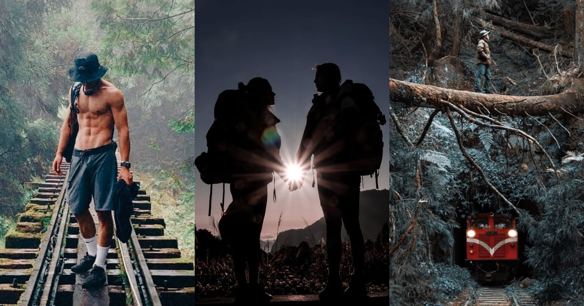 阿里山鐵路「眠月線」洗版IG!月光下的秘密仙境,隧道盡頭直接帶你通往宮崎駿的魔法世界!