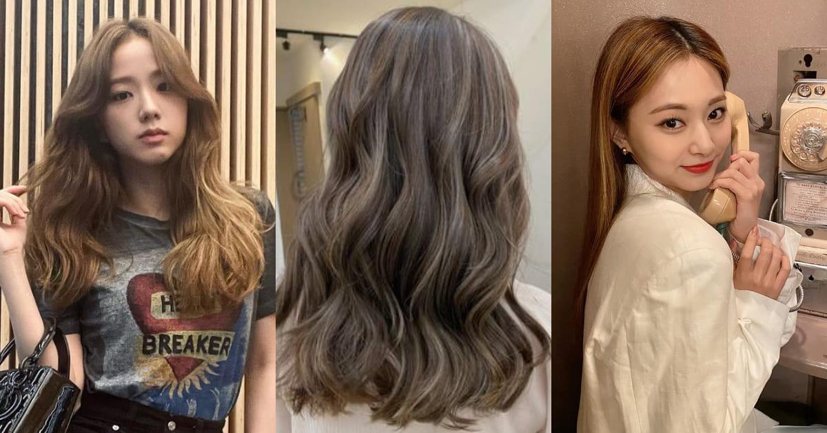 2021染髮推薦「流金染」!BLACKPINK最愛古銅棕、霧金色、金銅色,周子瑜「這個髮色」還能預防布丁頭