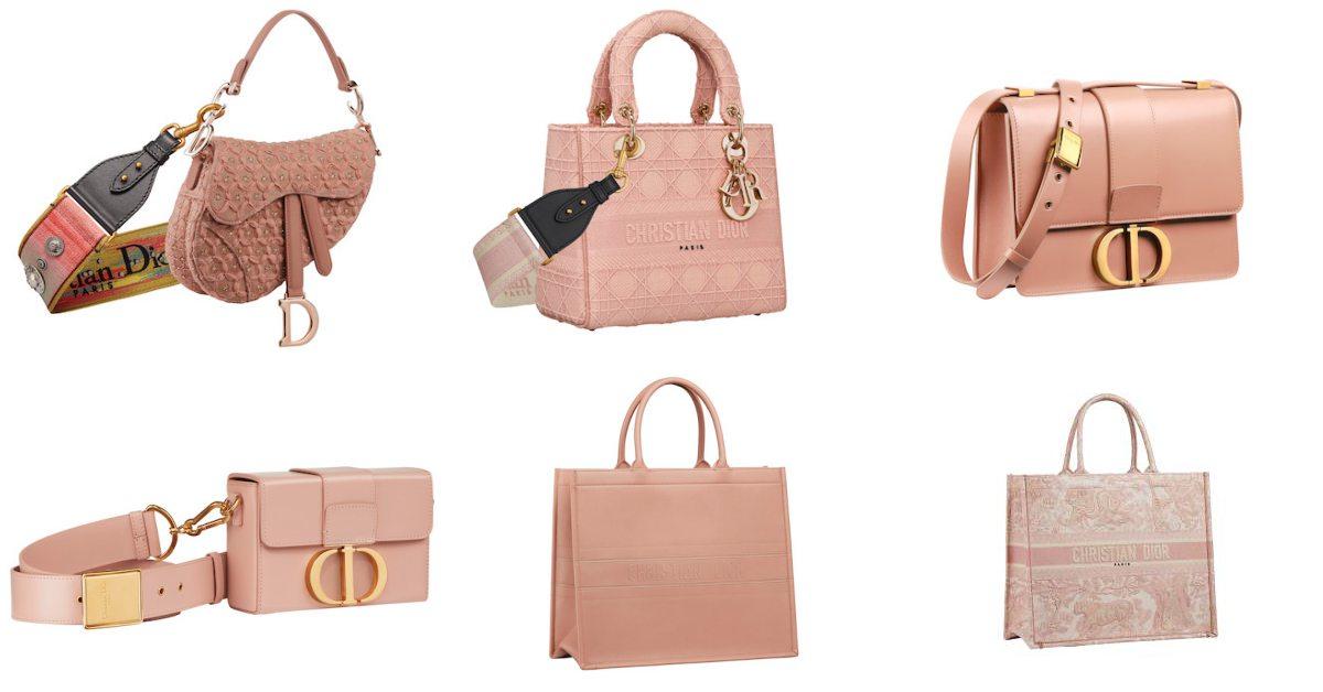 Dior話題包款變成「珊瑚粉色」!LadyDior、30蒙田、馬鞍包這10款夢幻配色包款一定要擁有