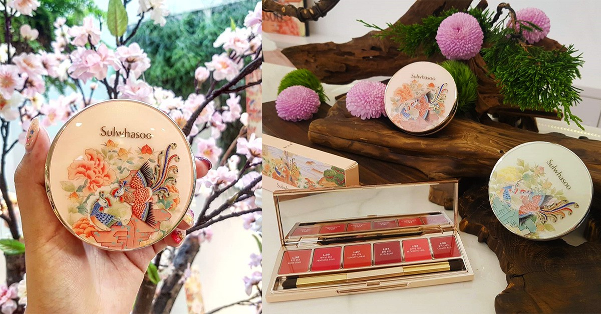 《雪花秀》七夕限定像珍藏品!鳳凰、花鳥國畫包裝,仙得像宮裡娘娘在用的