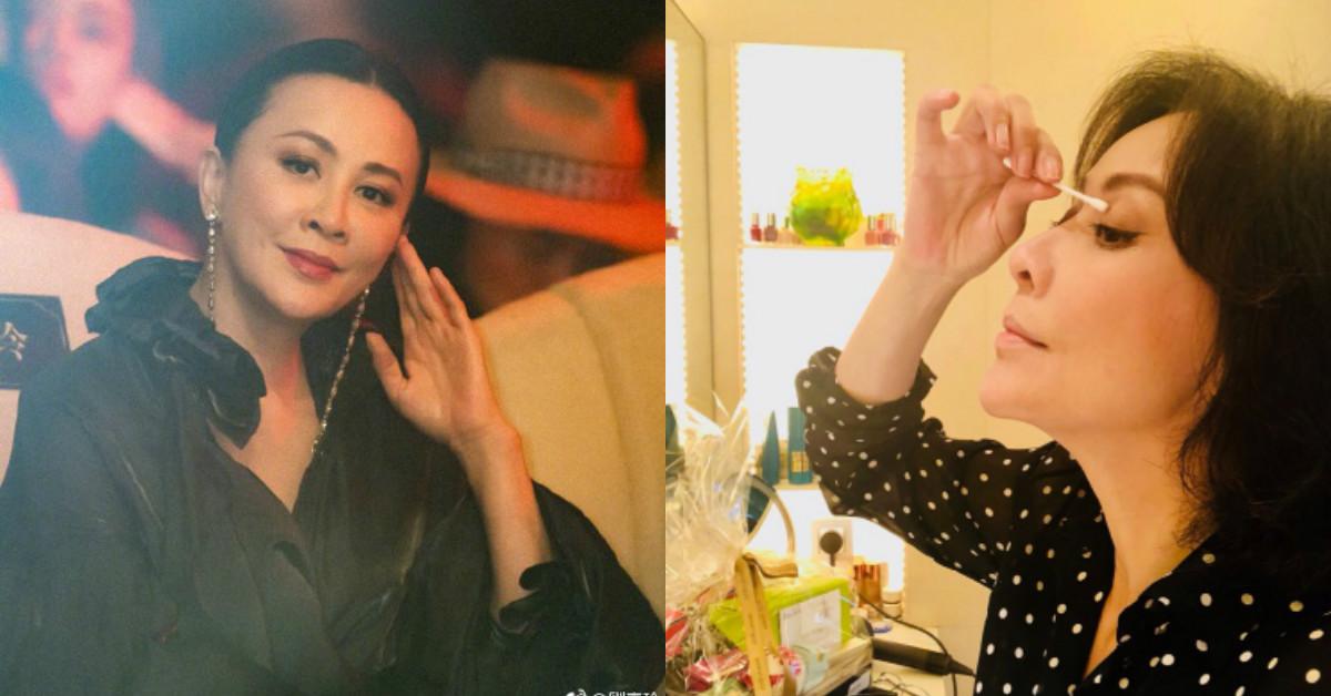 「眼線向上拉長點,看起來更有精神!」,揭開52歲劉嘉玲不老的彩妝心機!