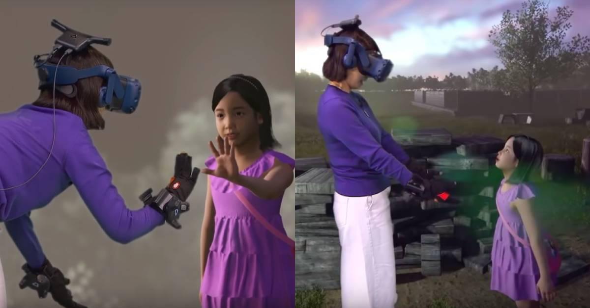 洋蔥大爆發!南韓媽媽用VR與過世女兒重逢,一句「好想你」讓網友秒噴淚!