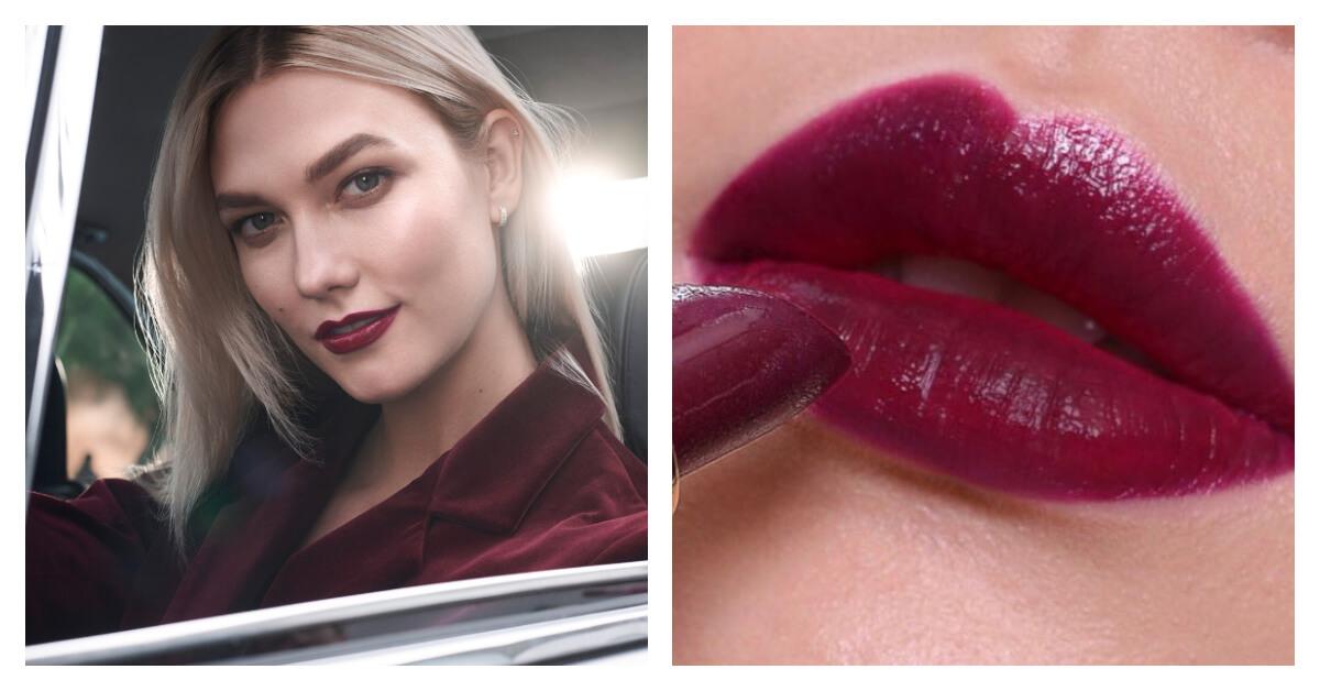 畫膩紅唇?時尚潮模Karlie Kloss和好萊塢女星用「酒釀櫻桃色」制霸伸展台!