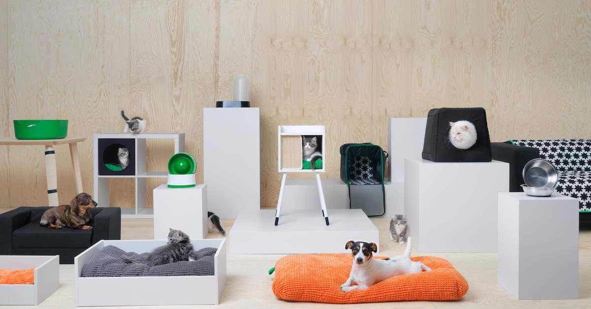 毛小孩也要北歐風!IKEA LURVIG 系列傢俱就是要讓寵物住的時髦!