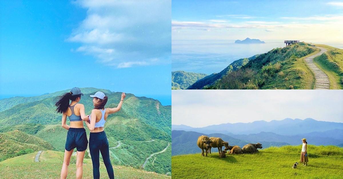夏日避暑秘境!北台灣最美草原「桃源谷」,360度山景海景,美到讓你驚呼連連!