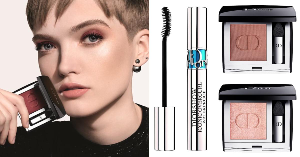 視訊會議完美妝容Dior來教你!全新「絕對搶眼系列」,澎派20色、全球熱銷NO.1睫毛膏必搶