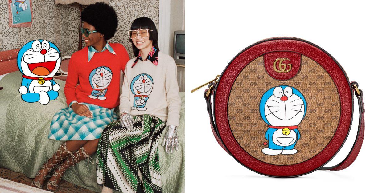 Gucci哆啦A夢不用任意門就找得到!2021春季最可愛聯名準備來預支你薪水!