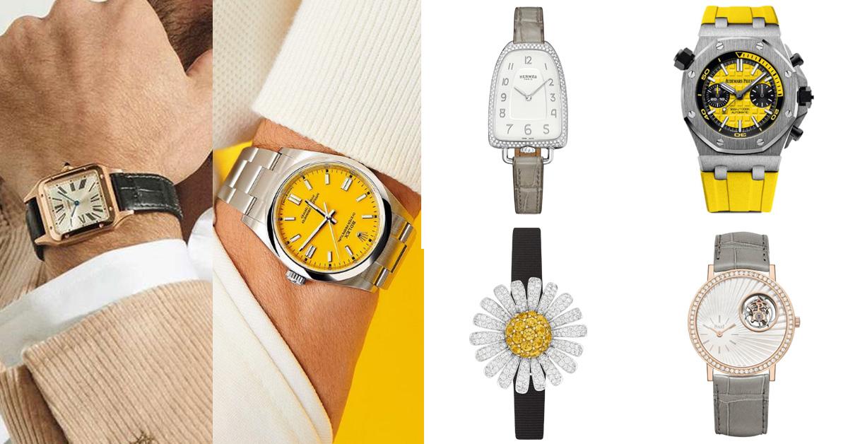 腕錶趨勢跟上Pantone 2021年度色!Rolex、Bvlgari、AP、Hermes...10款「極致灰 + 亮麗黃」推薦錶款