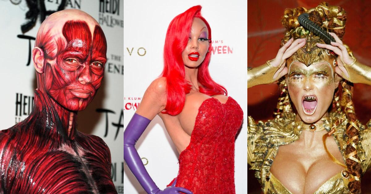 為萬聖節而生的女人!筋肉人、金色外星人都能駕馭,盤點超模Heidi Klum經典變裝扮相