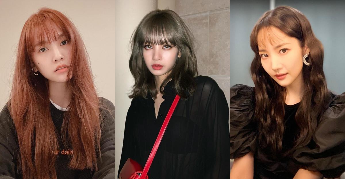 減齡瀏海髮型推薦!跟著楊丞琳、朴敏英這樣剪跟染,不只逆齡還能瘦臉蛋