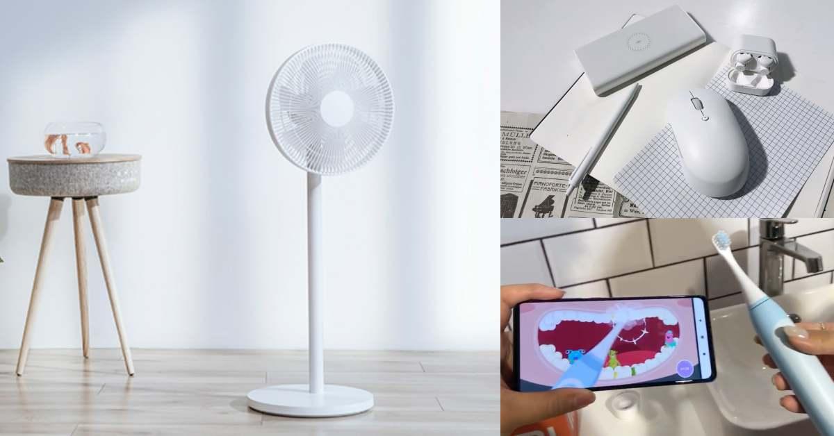 《小米》全新11款新品,必買清單公開!超高顏值電風扇、升級快充行動電源竟可以充筆電!