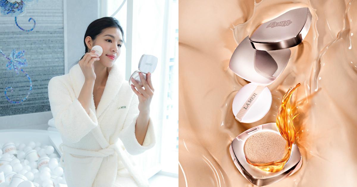 好奢華!補妝同時補頂級乳霜,LA MER要價4200元的貴婦氣墊粉餅來了!小編解析必買5重點