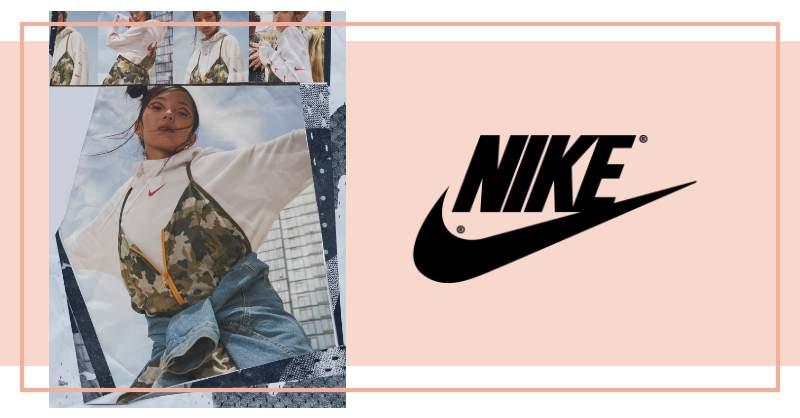 Nike的Logo不見了!大色塊取代品牌名,這款休閒服真的很不一樣