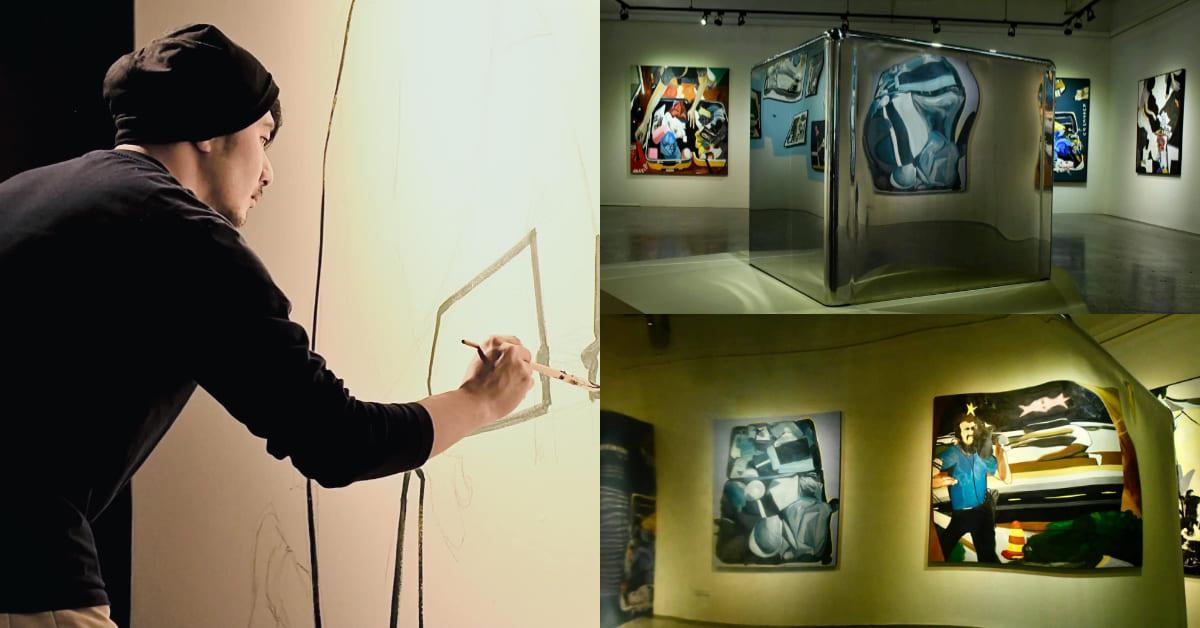 郭彥甫畫作屏東美術館登場!《行李箱》系列打開知名度,在藝術找到下一段歸屬