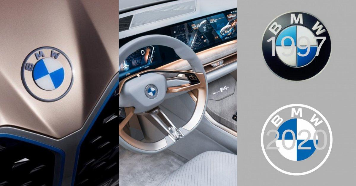 BMW也跟上換Logo潮流,主因是為了迎接「年輕族群」?拋去3D感新版更簡約耐看!