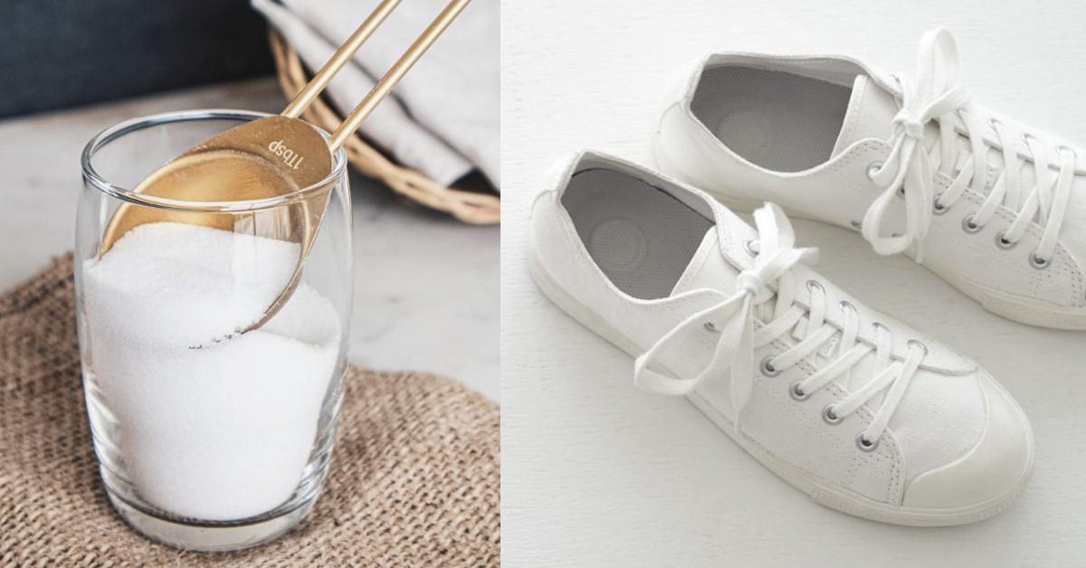 小白鞋清潔4種妙招 !肥皂便宜又好用,牙膏潔白功能一級棒 ,居家防疫洗小白正是時候